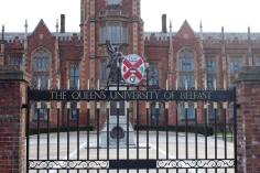 The gates of Queen's University.